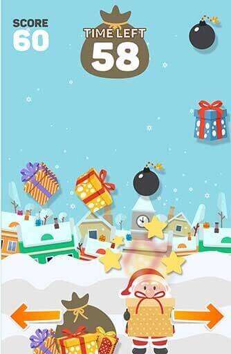 Gameplay for Santa In The Chimney Game