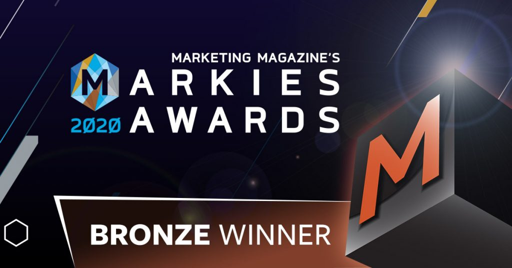 Marketing Magazine's MARKies Awards 2020 Bronze Winner Infinity Core